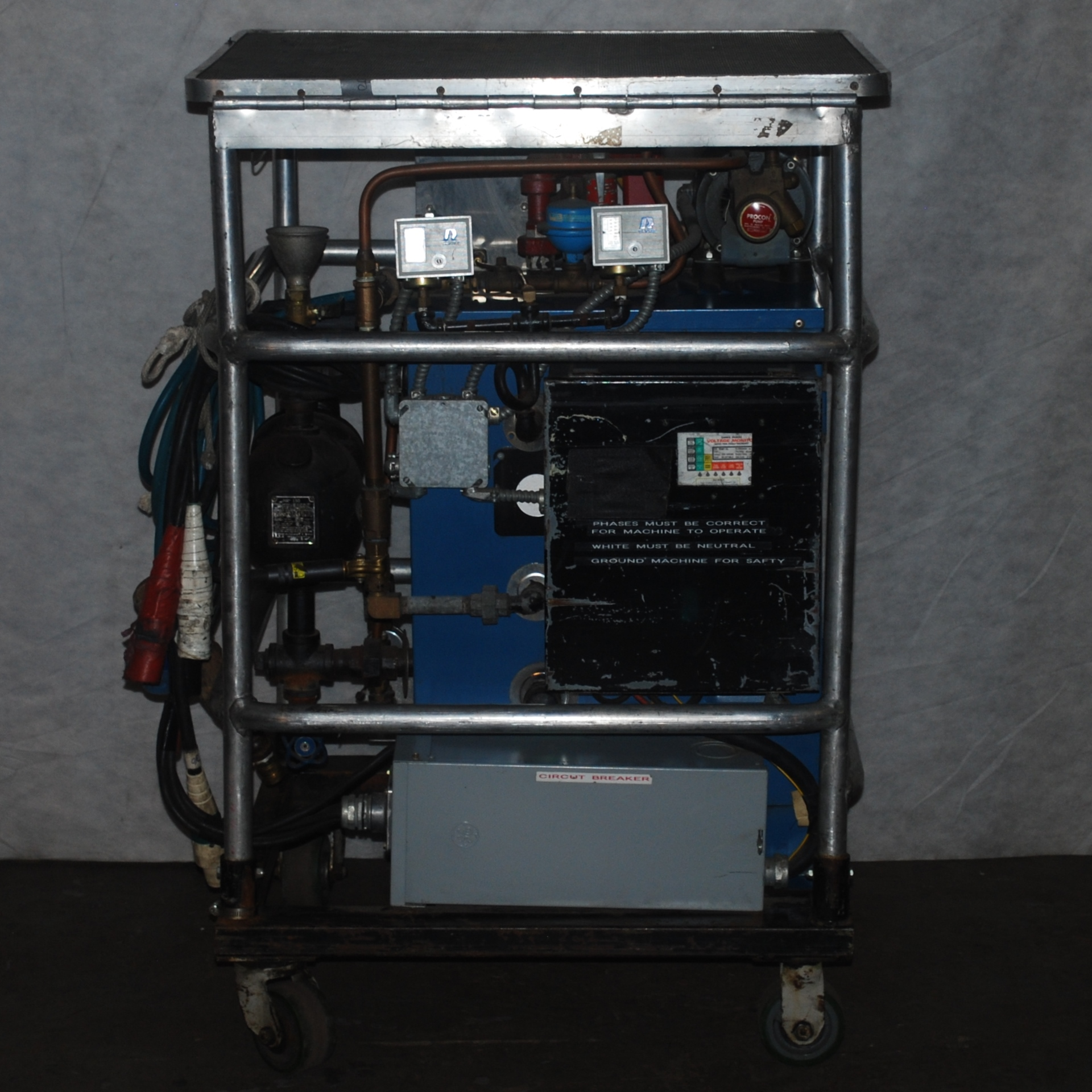 18Kw Electric Steam Generator EFEX Rentals