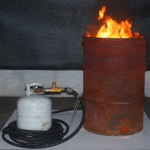 Large Burn Barrel